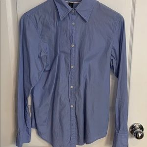 Gap striped button down. Tight not loose fit M